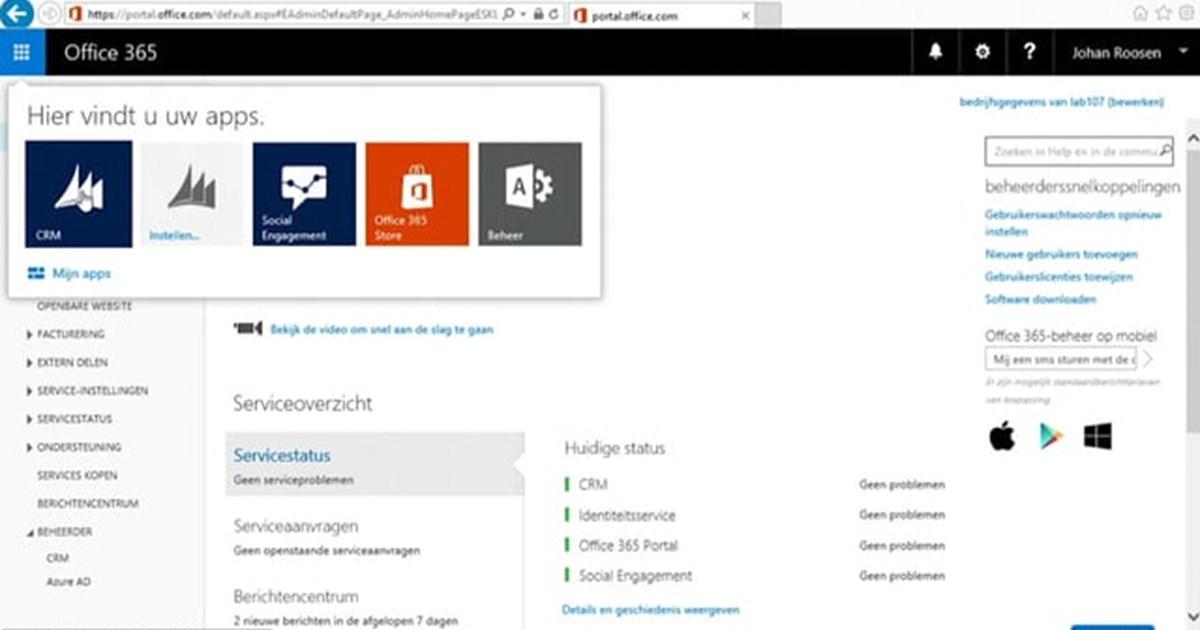 Efficient werken met de Microsoft Dynamics CRM Web Client