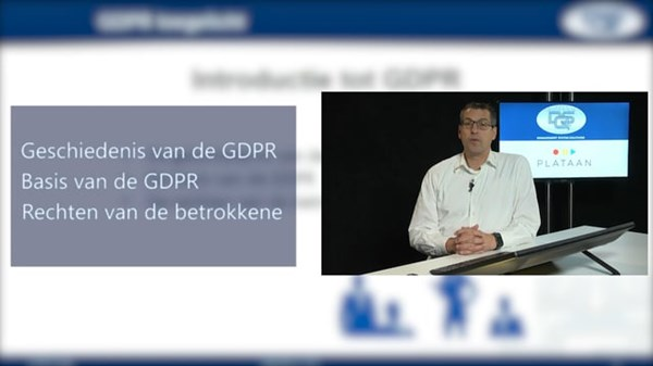 Online video training, GDPR Foundation